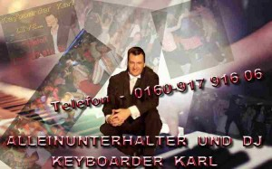 Musik und Entertainment mit Keyboarder Karl