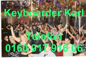 Silvester Party DJ NRW Keyboarder Karl
