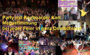 Party Events mit Keyboarder Karl in Alsdorf