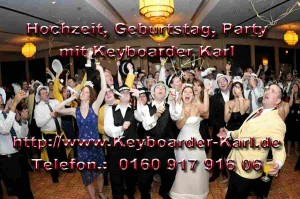 Party Alleinunterhalter und Dj keyboarder Karl in NRW