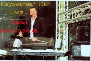 Top Entertainment mit dem Musiker Keyboarder Karl in ganz Nordrhein Westfalen